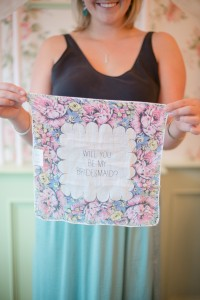 Bridesmaid Proposal Tea Party