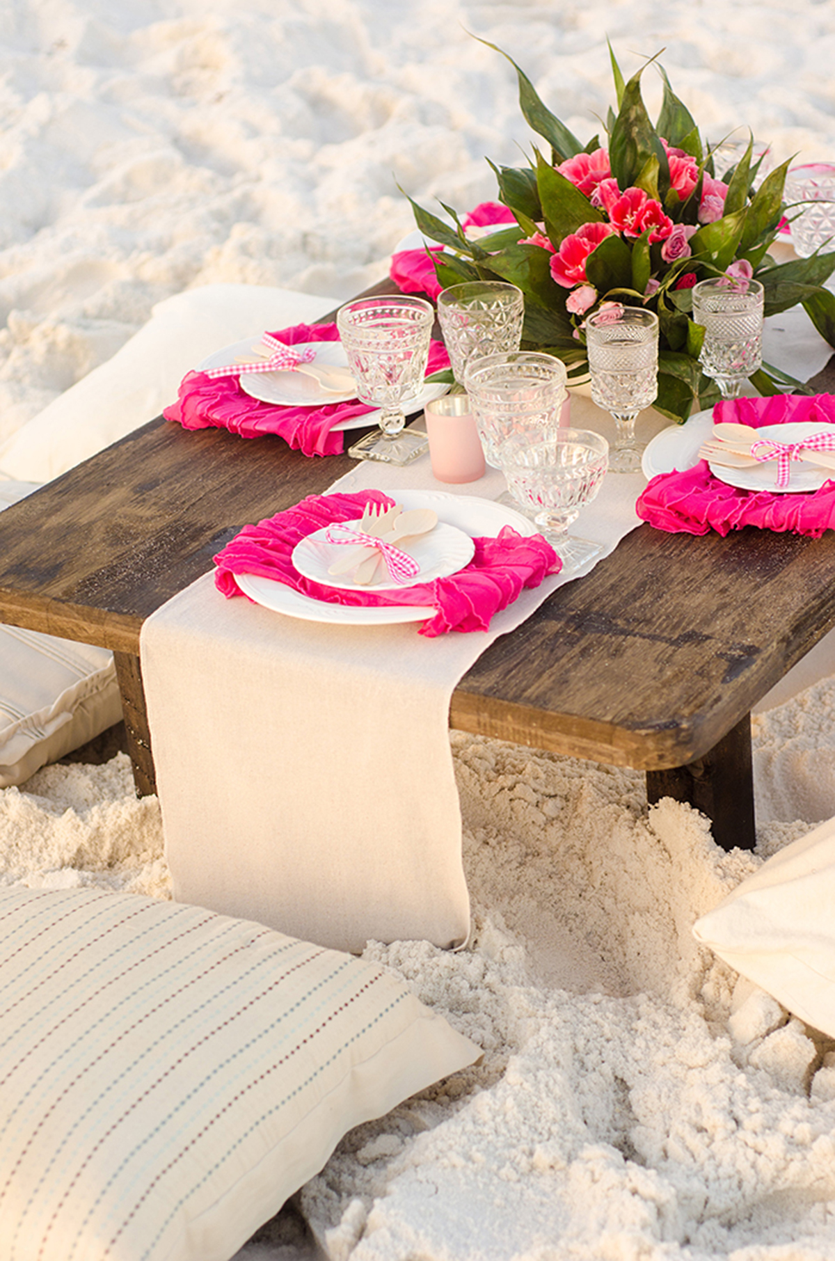 Flamingo Beach Bridal Shower Inspiration TrueBlu