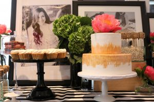 A Modern Black, White, and Pink Bridal Shower