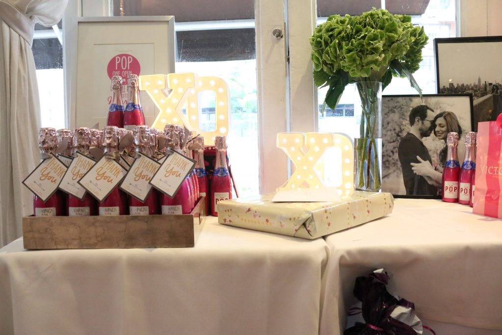 Champagne Bridal Shower Favors