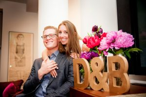 A Snazzy Couple's Shower for Dorie + Brad