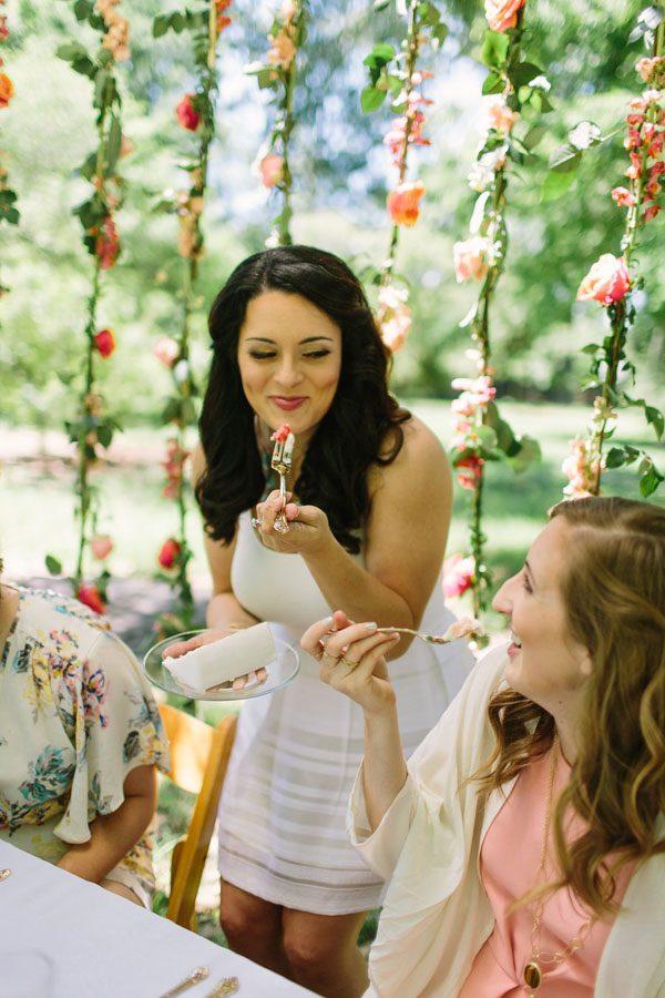 a bridesmaid picnic   drink tasting