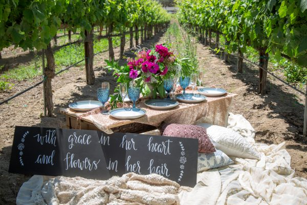 A Winery Bridal Shower at the Manzoni Estate Vineyard