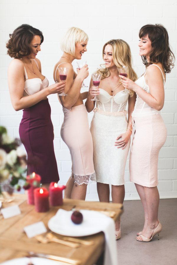 Modern Bridal Shower Boudoir Inspiration