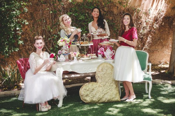 Bridesmaids' Luncheon Par-Tea Inspiration
