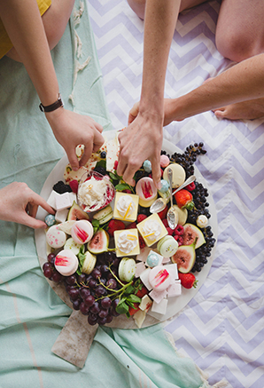 Will You Be My Bridesmaid Picnic