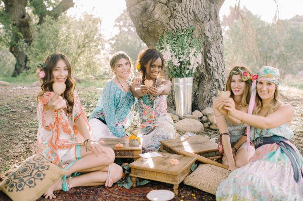 Bohemian Bridal Shower Inspiration