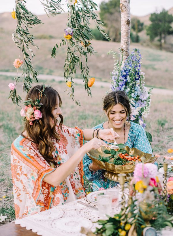 Bohemian Bridal Shower Inspiration Mariel Hannah Photography