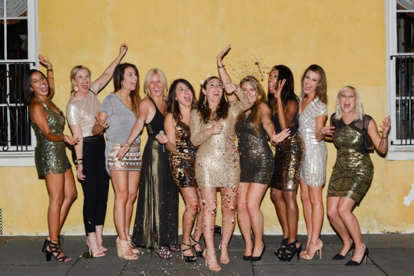 Glam and Glitter Filled Destination Bachelorette in Charleston