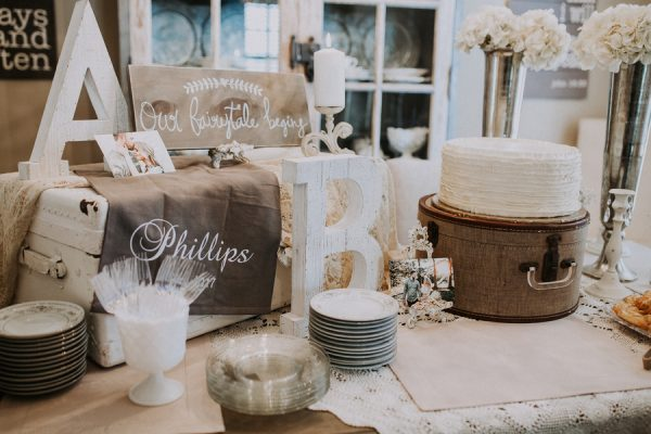 rustic bridal shower decorations