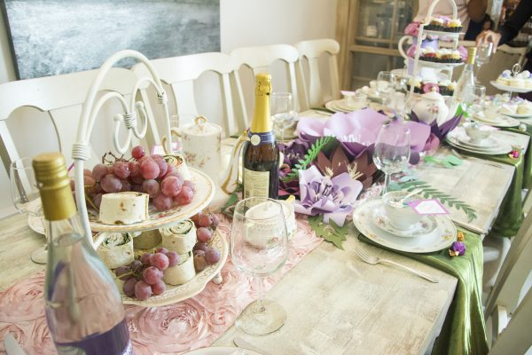 Tea Party Themed Bridal Shower Trueblu Bridesmaid Resource For