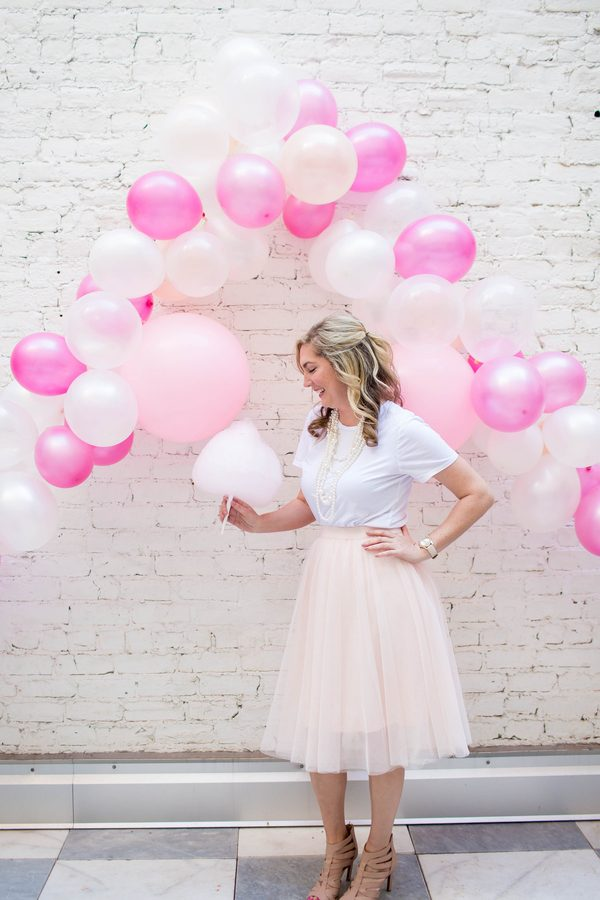 Girly Pink Bridal Shower at the Quirk Hotel