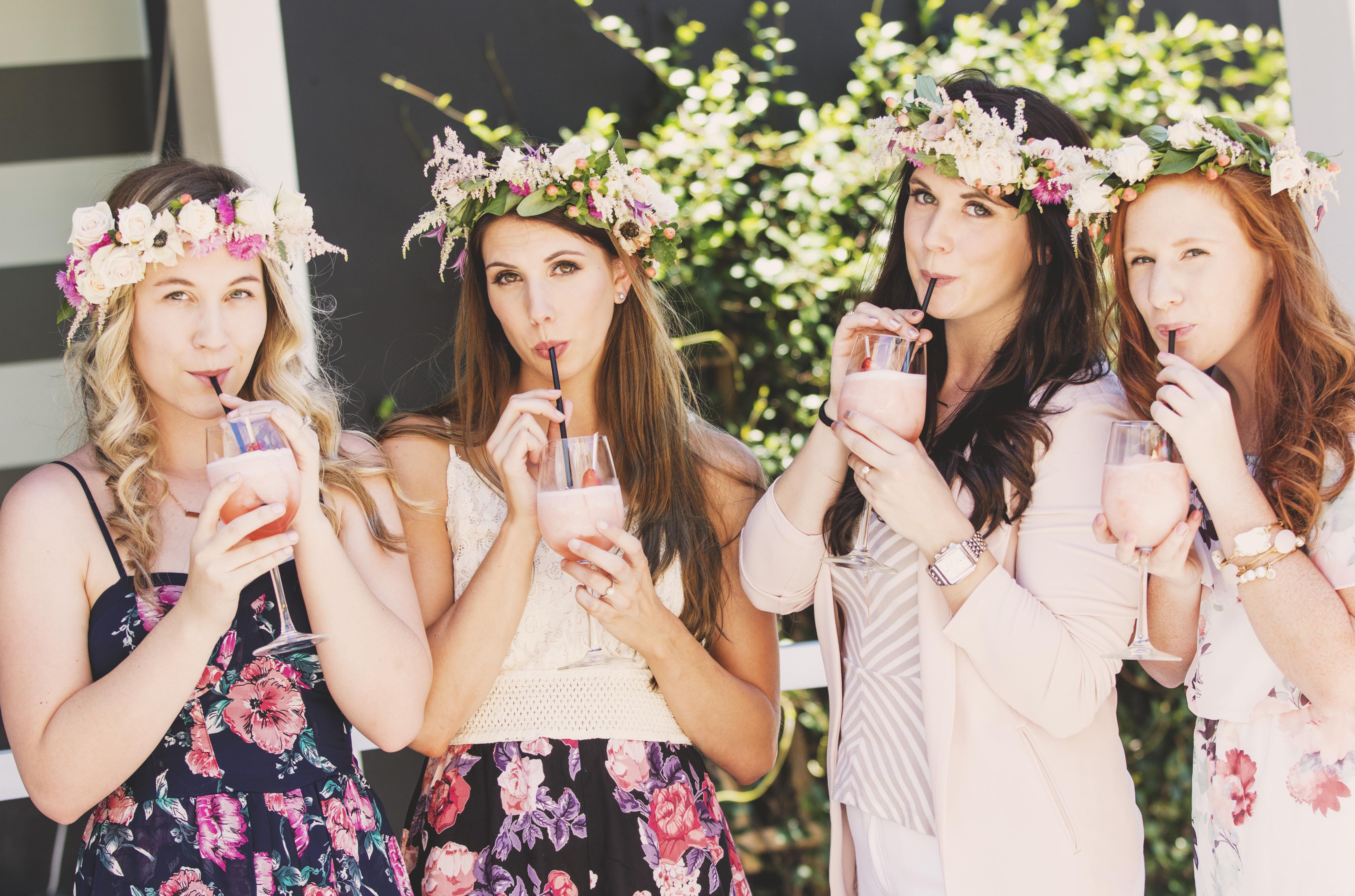 Flower Crown Bachelorette Party - TrueBlu  b3fd5866c1e