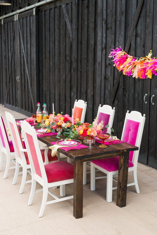 outdoor bridal shower ideas