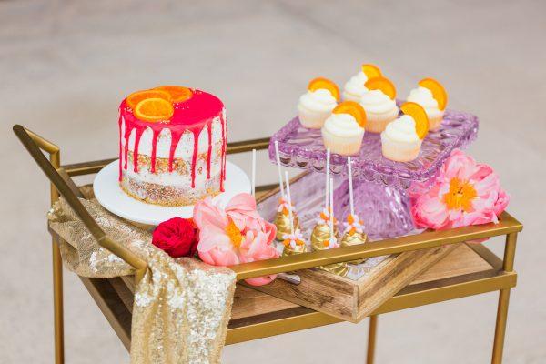 sweets bar cart ideas