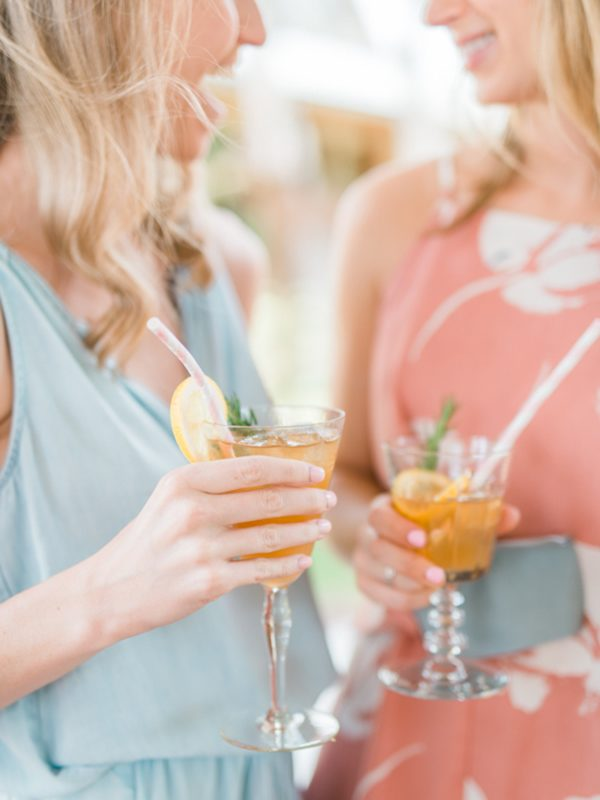 Outdoor Bridal Luncheon In Texas Trueblu Bridesmaid