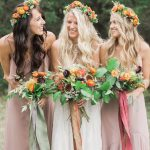 Bohemian Bridesmaid Party Inspiration