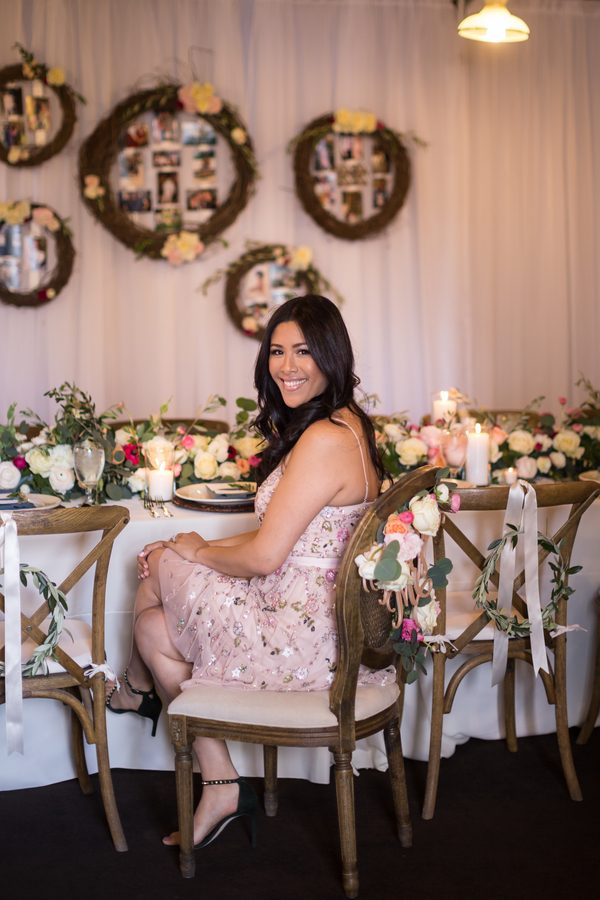 a rustic chic bridal shower in bakersfield
